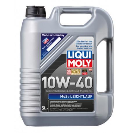 Liqui Moly Óleo Motor MoS2 Leichtlauf 10W40 5L