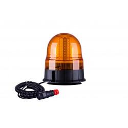 ROTATIVO DE LEDS 12/24V BASE PLANA/MAGNETICO
