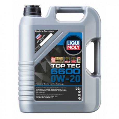 LIQUIMOLY TopTec 6600 0W-20 5L