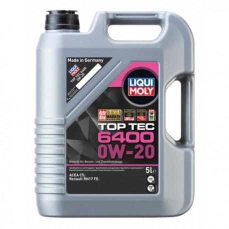 LIQUIMOLY TopTec 6400 0W-20 5L