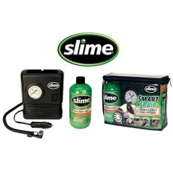 Kit Reparacao Pneus Auto compressor   selante gel 473 ml Slime