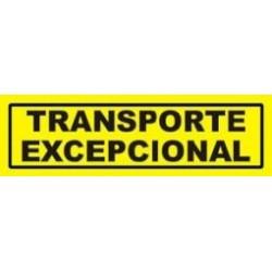 Autocolante Reflector  Transporte Excepcional